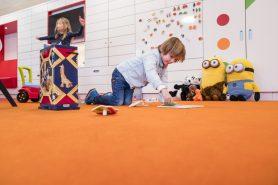 Spelen in het KinderKennisCentrum