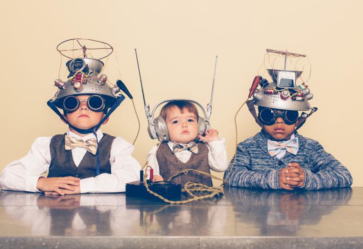 Jonge onderzoekers