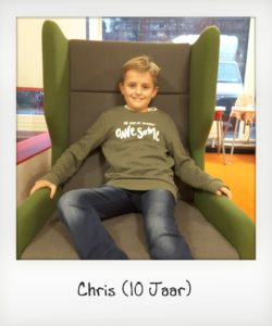waardering deelnamer Chris